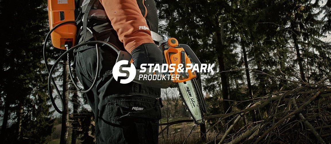 Stads & Park Produkter webbplats